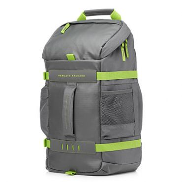 HP 15.6 in Grey/Green Odyssey Backpack